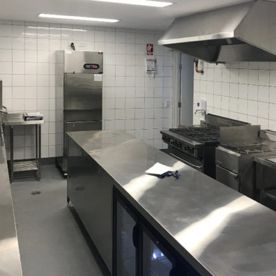commercial kitchen builders busselton - innovest construction barnard park project